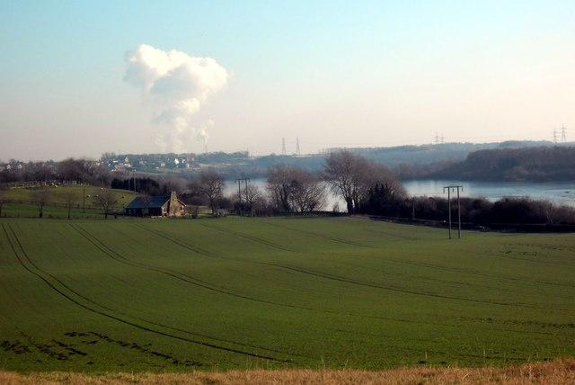 Fairburn Ings viewed from Newfield lane