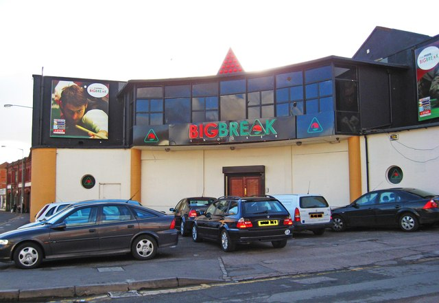 Big Break Snooker Club, Coventry Street, Digbeth, Birmingham