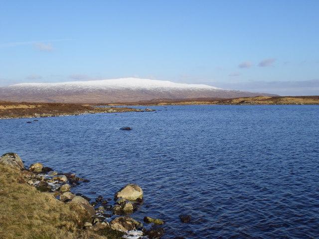 The northern reach of Loch Ba on Rannoch Moor