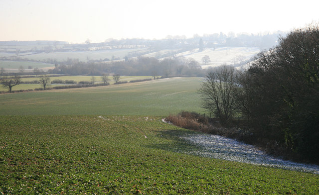 A view across the fields nr Manton