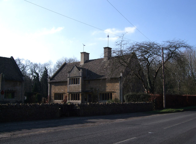 Nos. 12-14 Roadside Cottages, Eaton Hastings