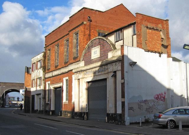 The former Smithfield Garage, Meriden Street, Birmingham