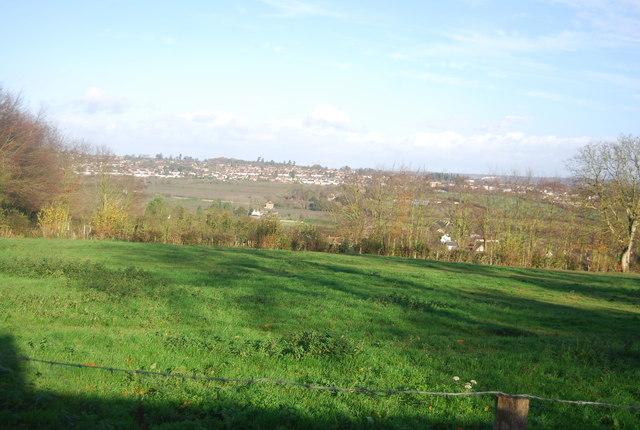View north of Wilson's Lane