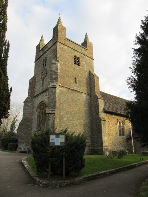 The tower of St Mary Magdalene's Church, Bolney