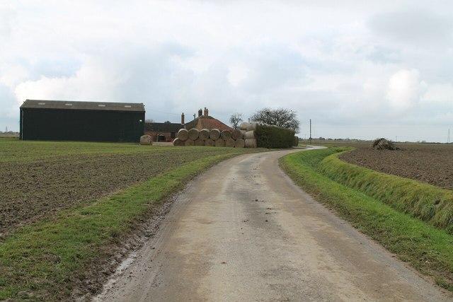 Lowfields Lane and Hobhole Farm