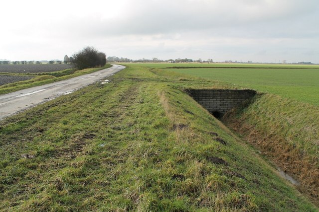 Ings Bank with Drain