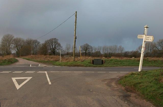 Crossroads on Luppitt Common