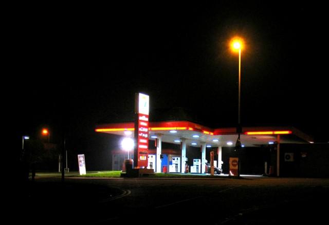 Egerton Park filling station