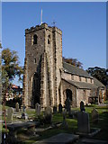 SD7336 : St Mary and All Saints, Whalley - Church of England by Steve Houldsworth