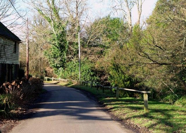 Padgham Lane near Dallington