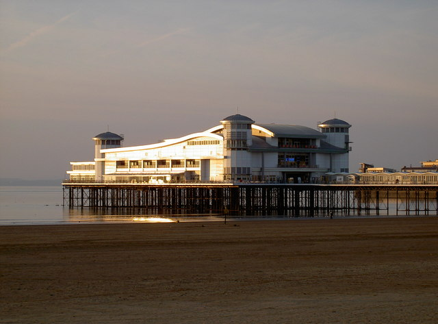 The Grand Pier in the afternoon sunshine