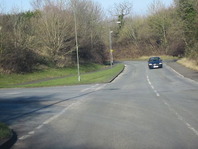Droitwich Spa, Tagwell Road, Primsland Way Junction