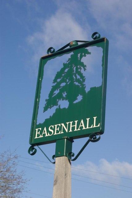 Easenhall village sign