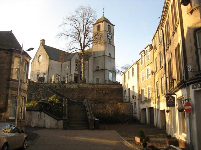 St. Mary's Church, the Parish Kirk of Hawick.