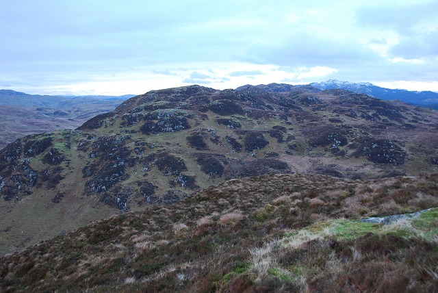 Dùn Dubh from the north-west