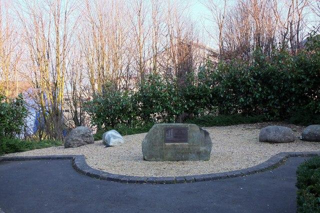James Hutton Memorial Garden, Edinburgh