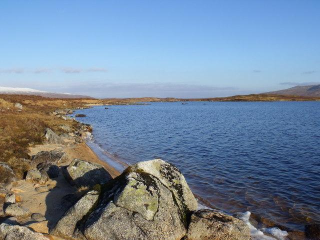 On the north shore of Loch Ba on Rannoch Moor