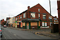 SK5236 : Shops due for demolition by David Lally