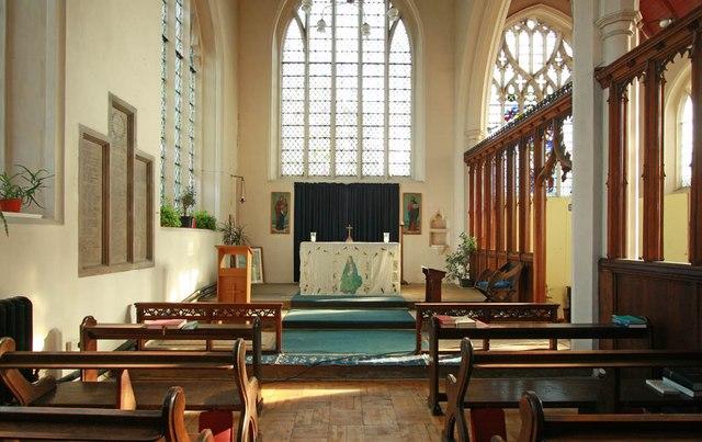 St Barnabas, Browning Road, Manor Park - North chapel