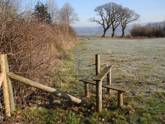 Llwybr troed Llanarthne footpath