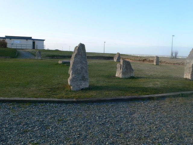 Gorsedd stones, Rhyl