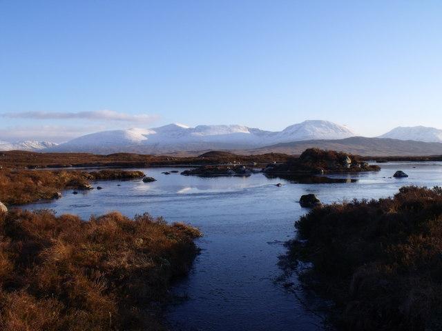 Lochan north-east of Lochan Beinn Chaorach on Rannoch Moor
