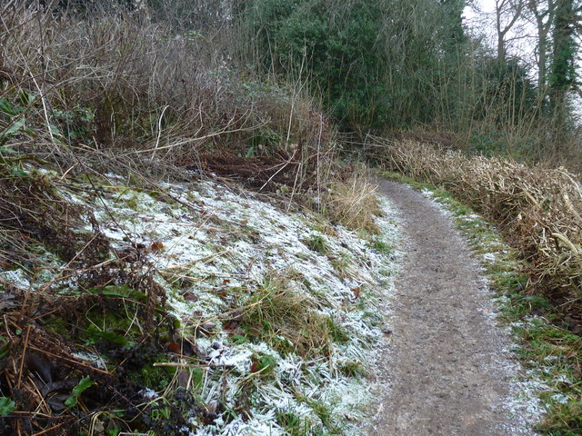 A chilly looking Zig Zag Path