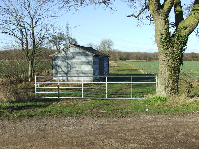 Gate And Shed