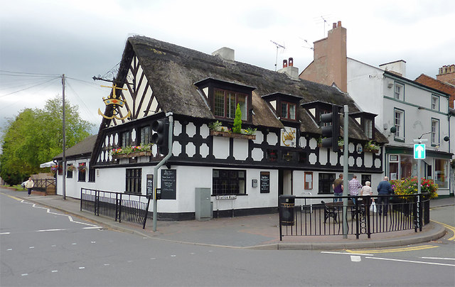 The Crown and Anchor at Stone, Staffordshire
