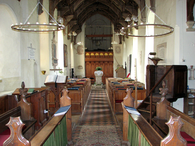 St Peter's church in Blaxhall
