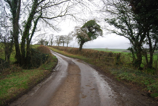 Bend in Litton Rd