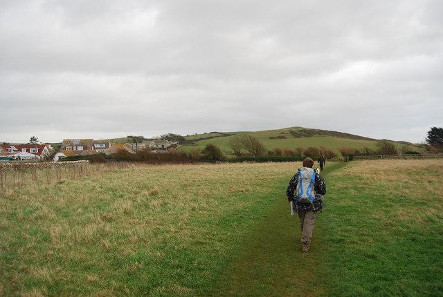 Walking to Burton Beach