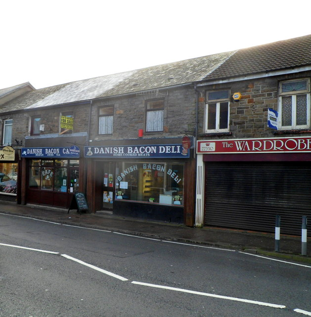 Danish Bacon Deli and  Cafe, Treorchy