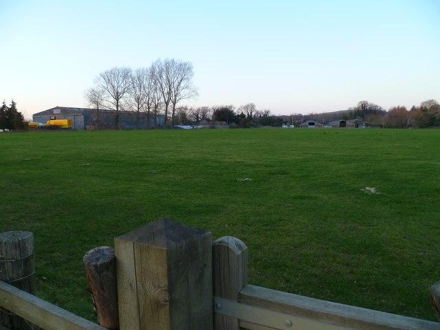 Field north of Chichester Aerodrome