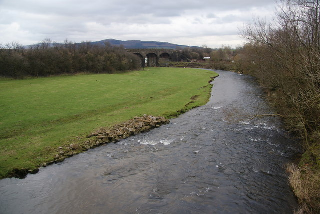 The River Aire near Priest Holme Bridge