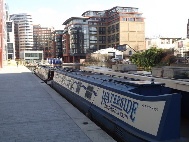 Waterside, Paddington Basin