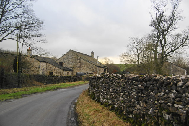 Farm buildings in Bank Newton