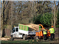 TQ3095 : Shredding Machine, Oakwood Park, London N14 by Christine Matthews