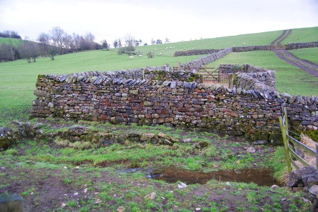 Stone sheep pens by Hulber Beck