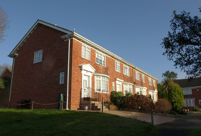 Houses on Henbury Close, Torquay