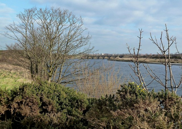 The River Irvine From Bogside