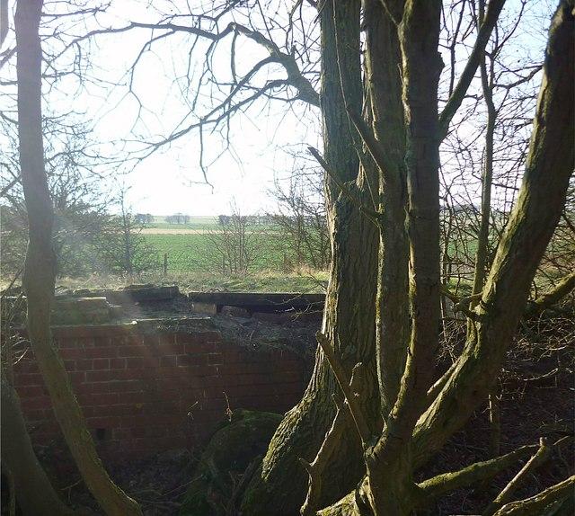 The old railway bed at Churn Halt