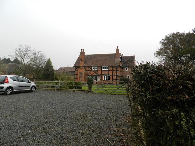 Farm house, Upper Goosehill Farm