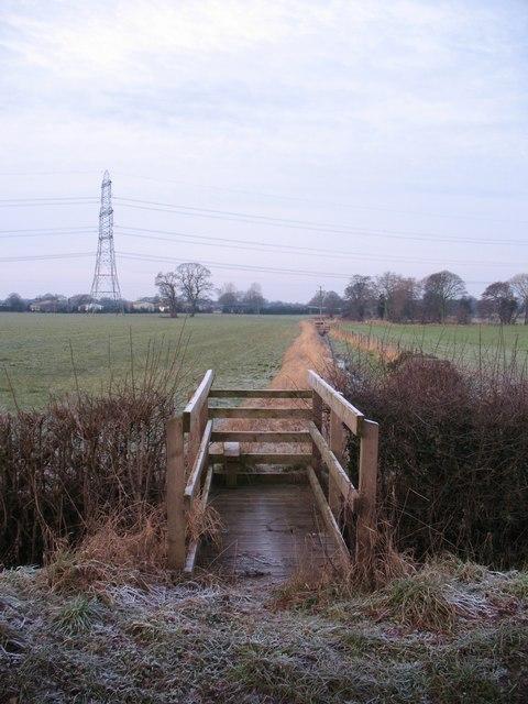 Footpath off Thornton Lane