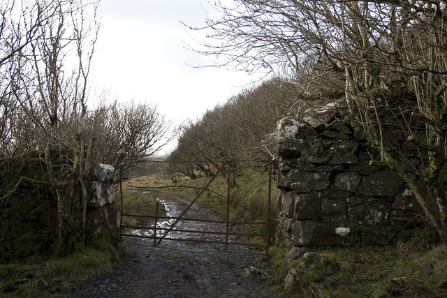 Battered Gate at Airigh nam Beist, Islay