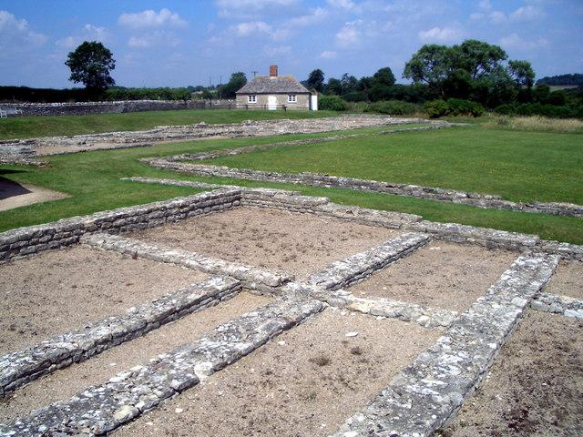 Roman Villa at North Leigh