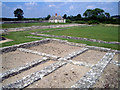 SP3915 : Roman Villa at North Leigh by Des Blenkinsopp