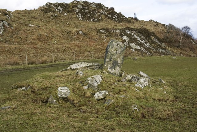Standing Stone near Lagavulin, Islay