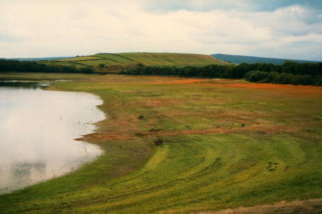 West side of Blackmoorfoot Reservoir