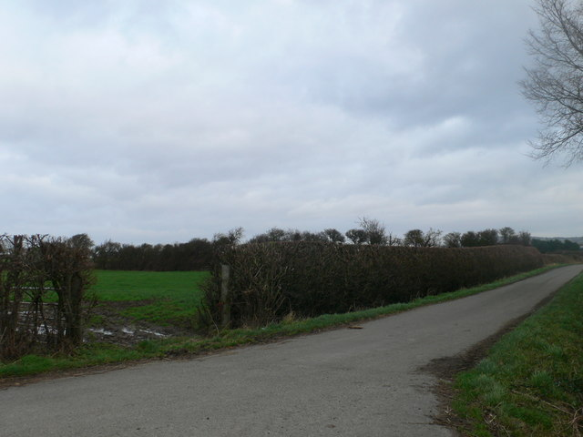 Agricultural land between Rhyl and the River Clwyd
